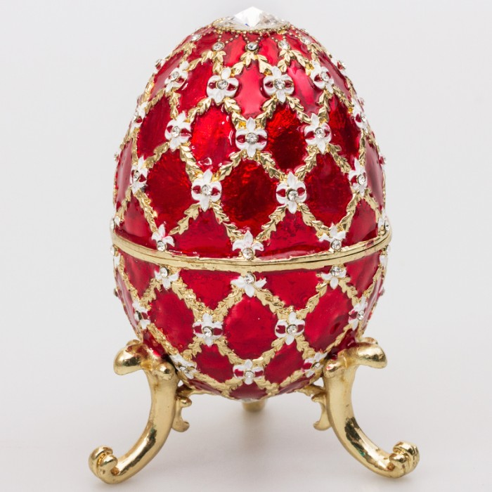 Russian easter eggs fromrussia the most famous egg the coronation egg was crafted to commemorate the coronation of the last russian emperor negle Image collections