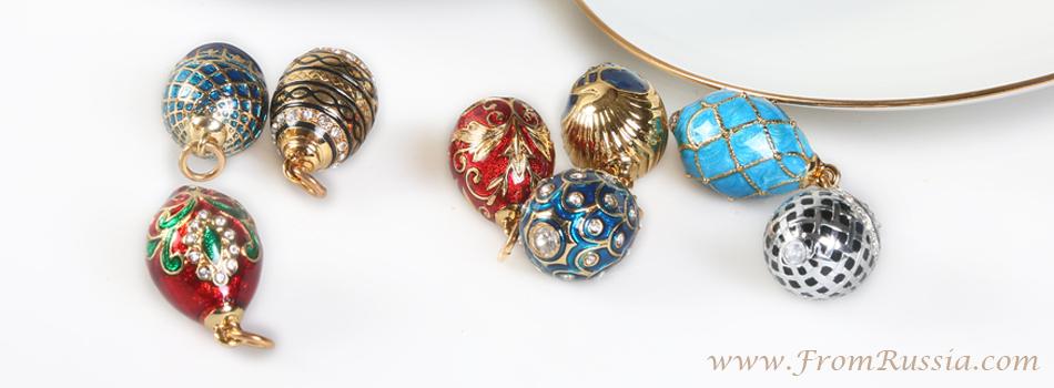 Imperial egg necklace imperial egg pendants fromrussia imperial egg necklace imperial style egg pendants aloadofball Choice Image