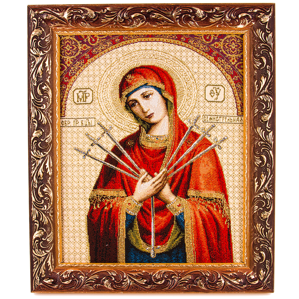 Our Lady Of The Seven Sorrows Semistrelnaya Tapestry