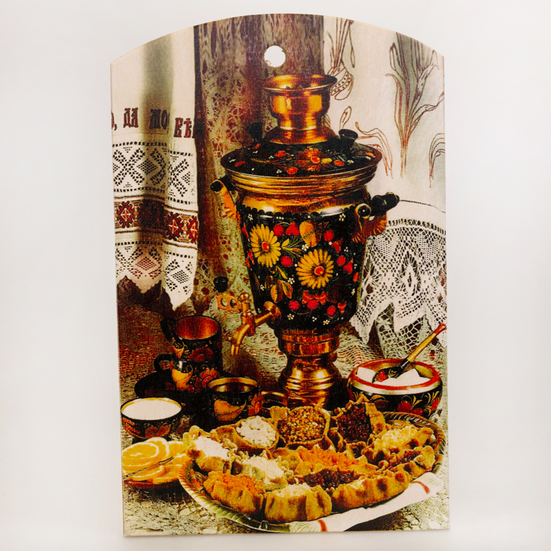 Decorative Product Board : With a samovar decorative cutting board product sku s