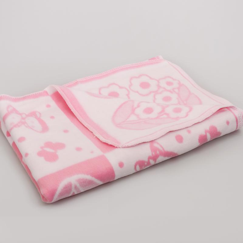 Flannel Baby Blanket Pink Product Sku J 131420