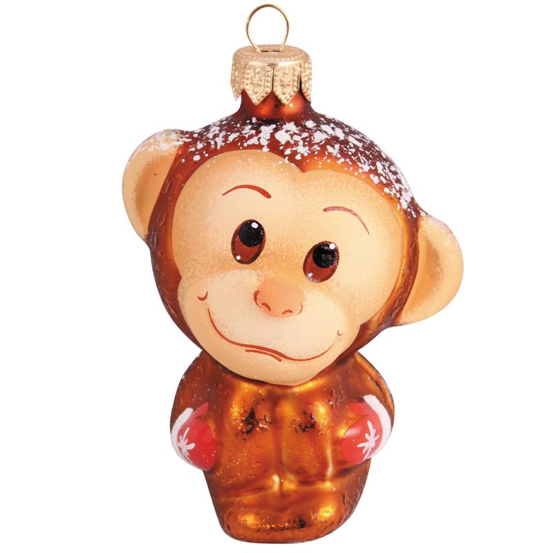 обезьянка елочная игрушка своими руками