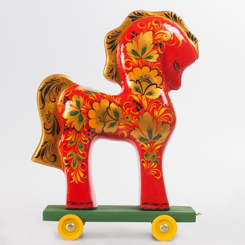 картинка русской народной игрушки лошадка и матрешка этого добавил что