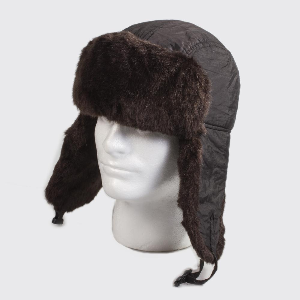 russian ushanka hat w faux fur product sku z 145719. Black Bedroom Furniture Sets. Home Design Ideas