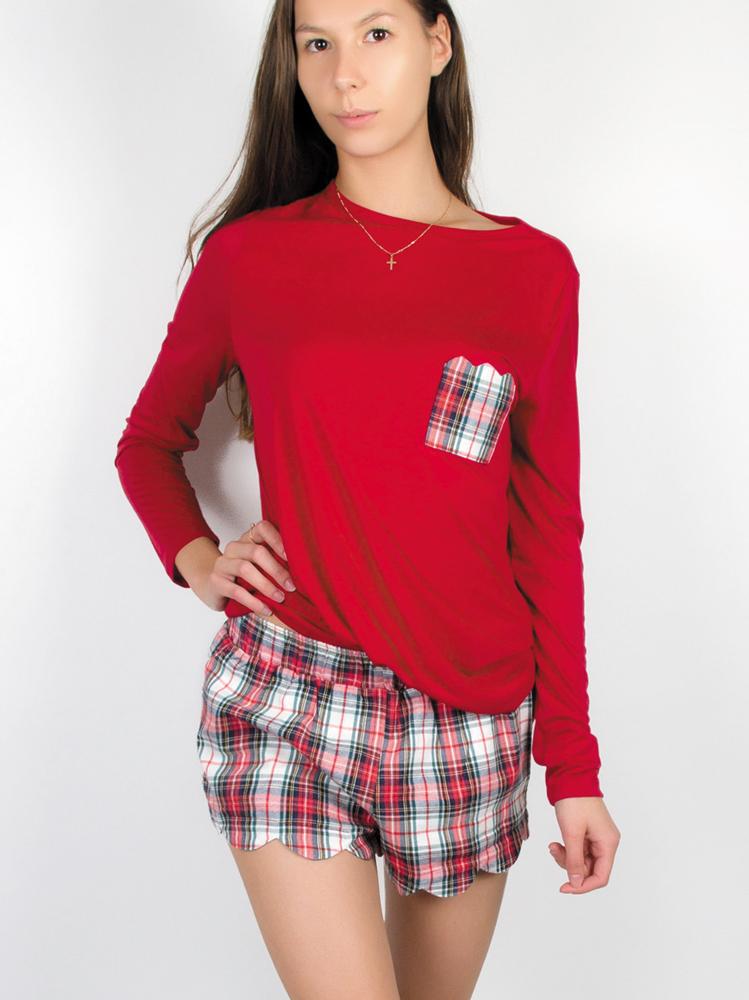 Checkered Shirt Women