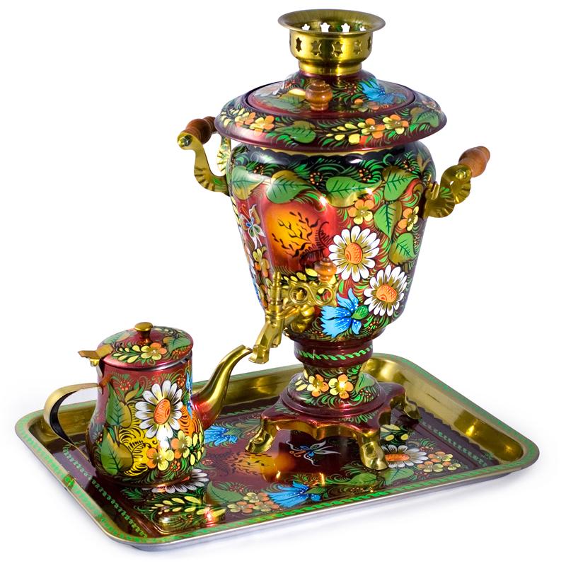 Russian Teapot, Russian Samovar Set sale