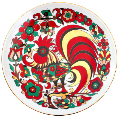 Red Rooster Decorative Plate  sc 1 st  FromRussia.com & Red Rooster Decorative Plate | Product sku J-114039