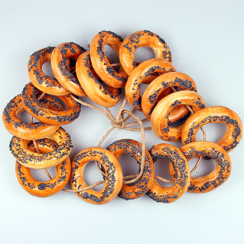Wall Decoration Rings : Bread rings hanging wall decoration product sku s