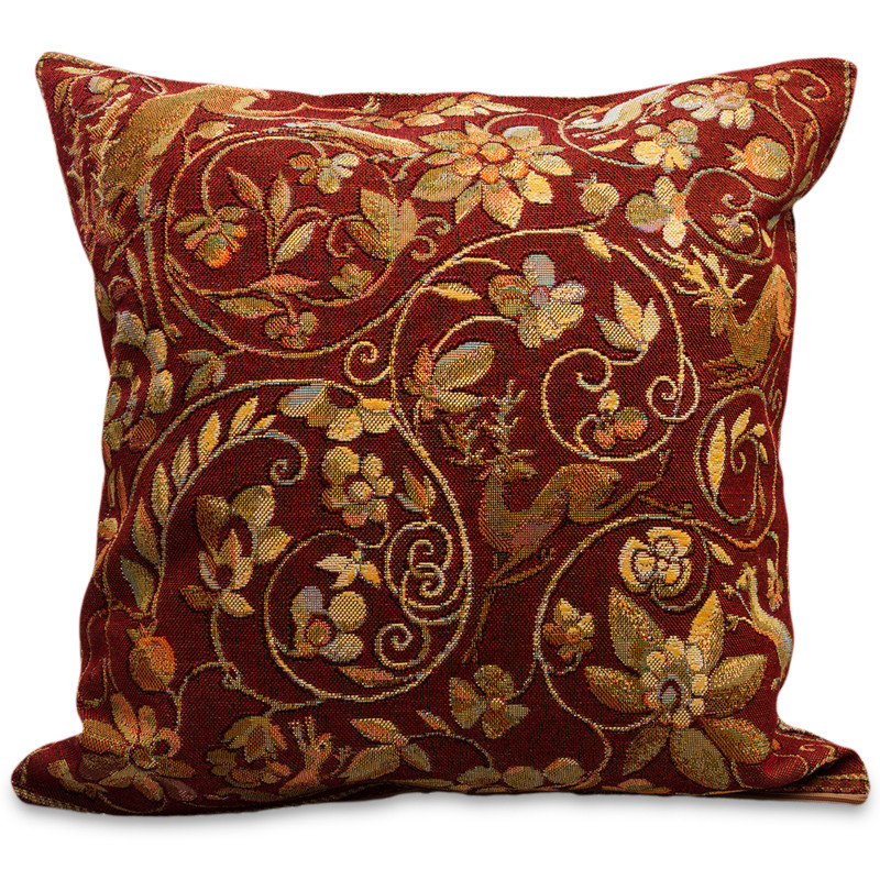 Wondrous Garden Decorative Tapestry Throw Pillow Product