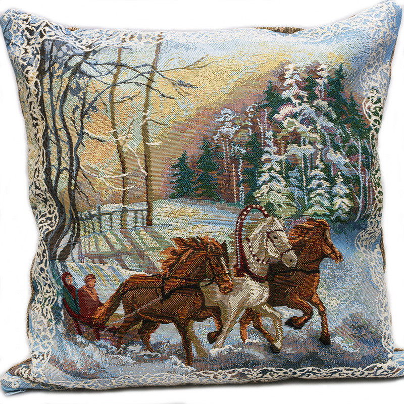 Troika Decorative Tapestry Throw Pillow Product sku J-116981