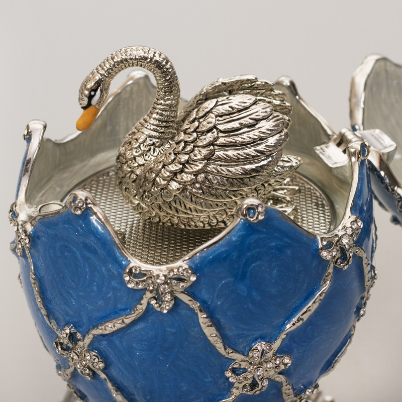 Image result for faberge egg swan automaton