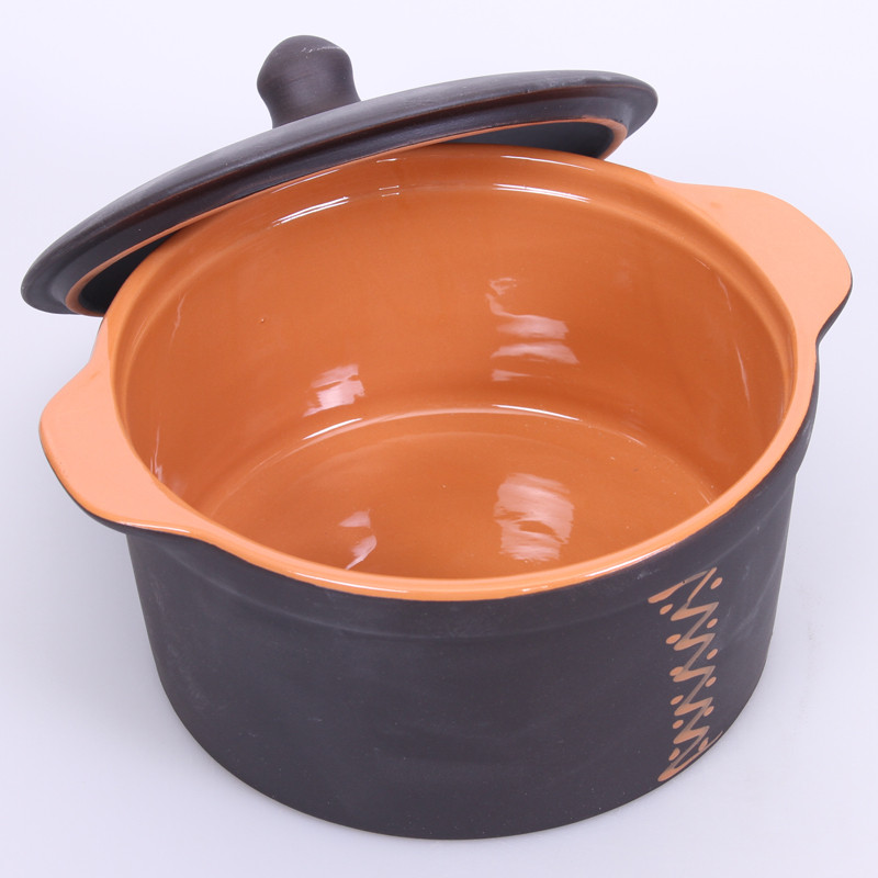Stoneware Cooking Pot Product Sku J 133338