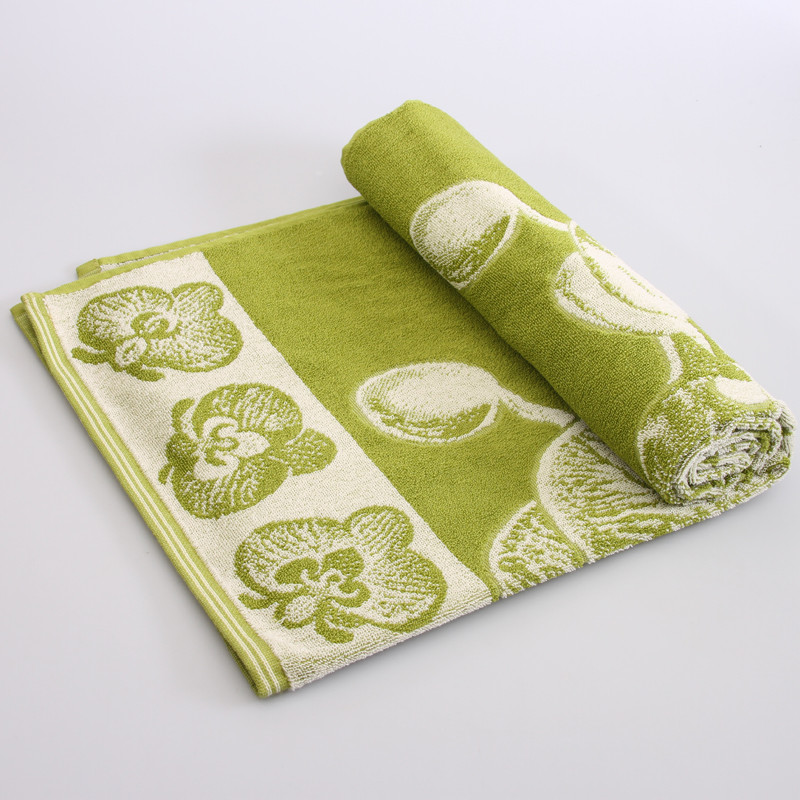 Orchids Terry Towel Green Product Sku J 136424