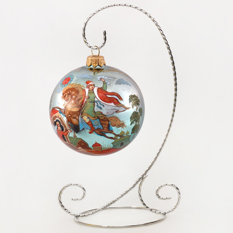 Emelya Collectible Christmas Ornament (Palekh) - Emelya Collectible Christmas Ornament (Palekh)