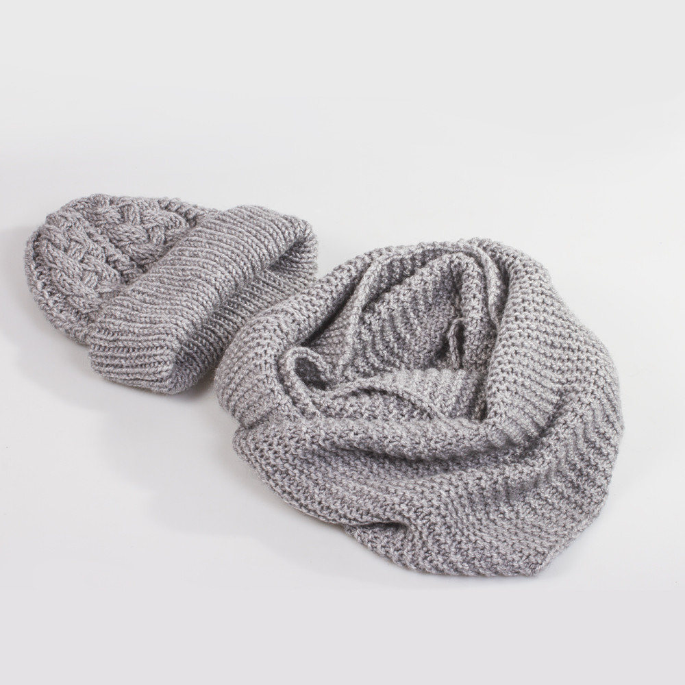 Hand-knitted Neck Warmer Scarf | Product sku Z-146021