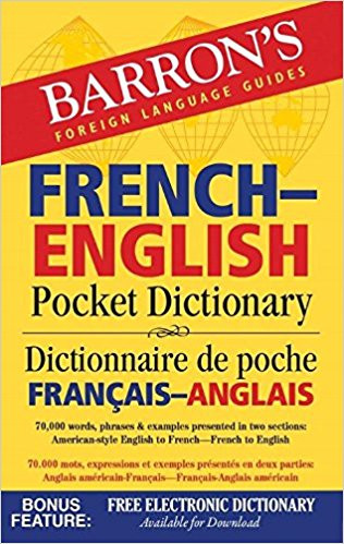 Barron's French-English Pocket Dictionary: 70,000 words, phrases & examples