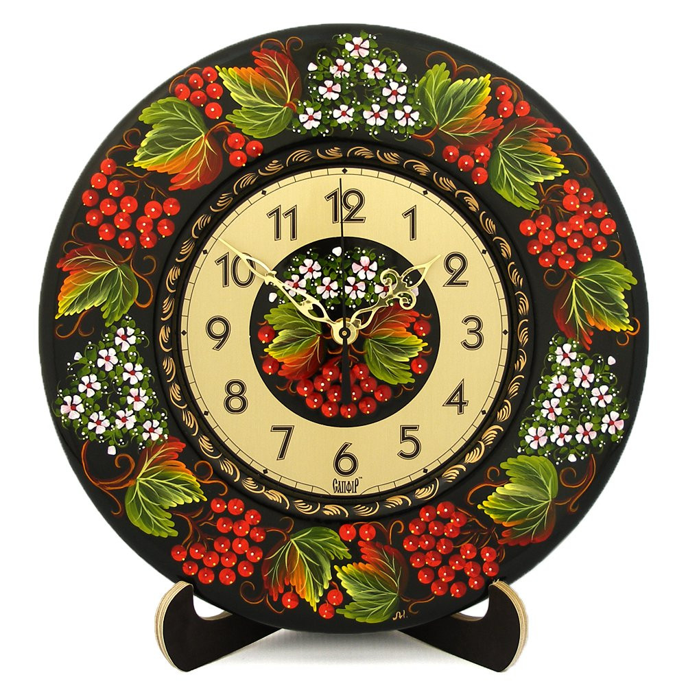 Rowanberries Clock | Product sku S-156229