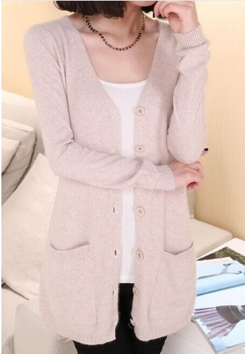 399d6421089 Ivory Button-down Cardigan