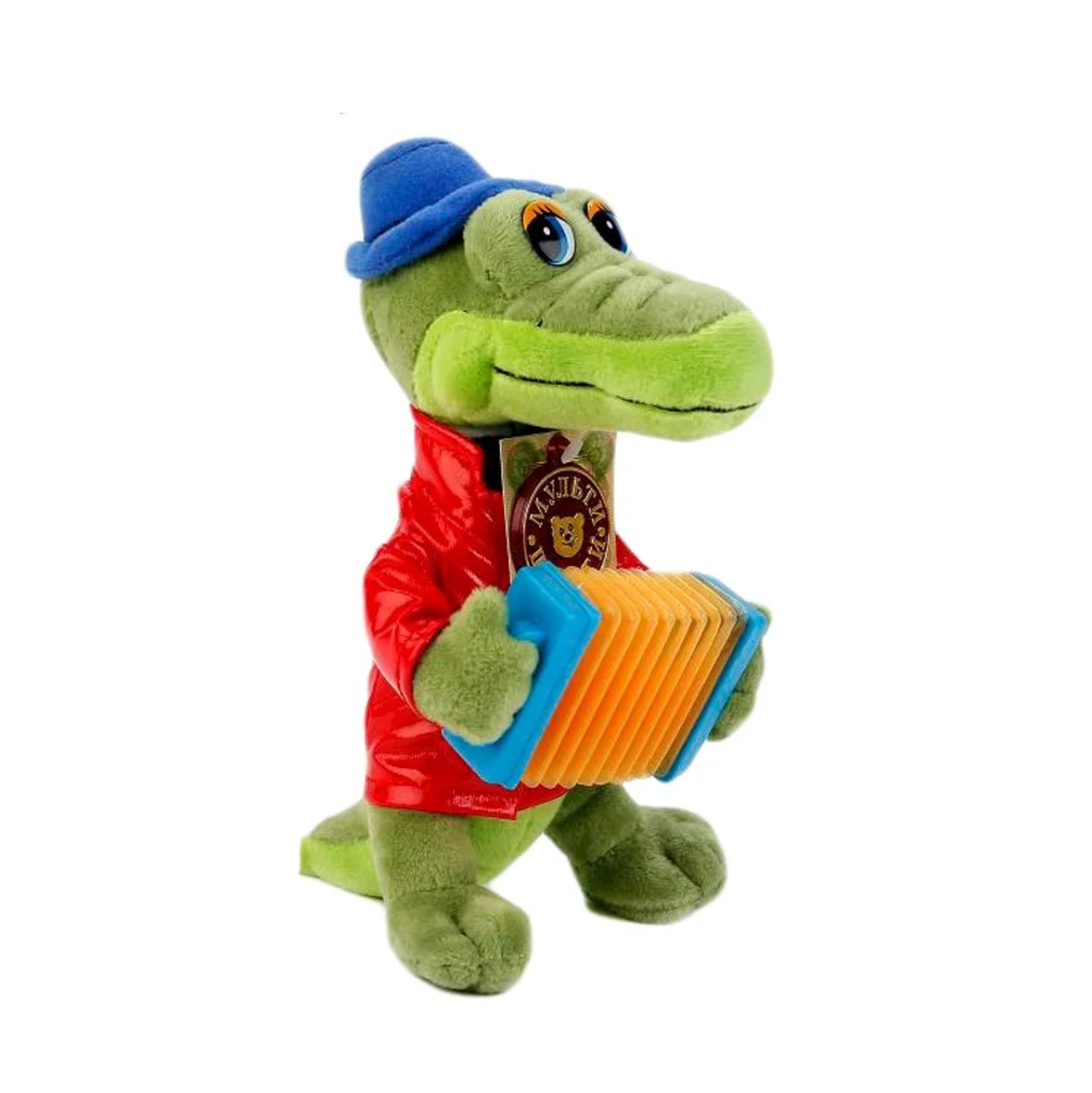 Gena the Crocodile with Accordion Russian Talking and Singing Toy