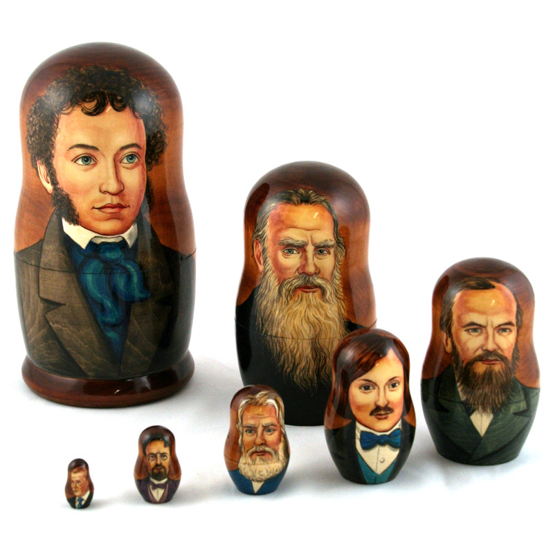 With known russian writers were still