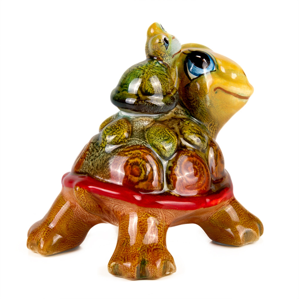 Turtle with Hatchling Figurine | Product sku S-157526