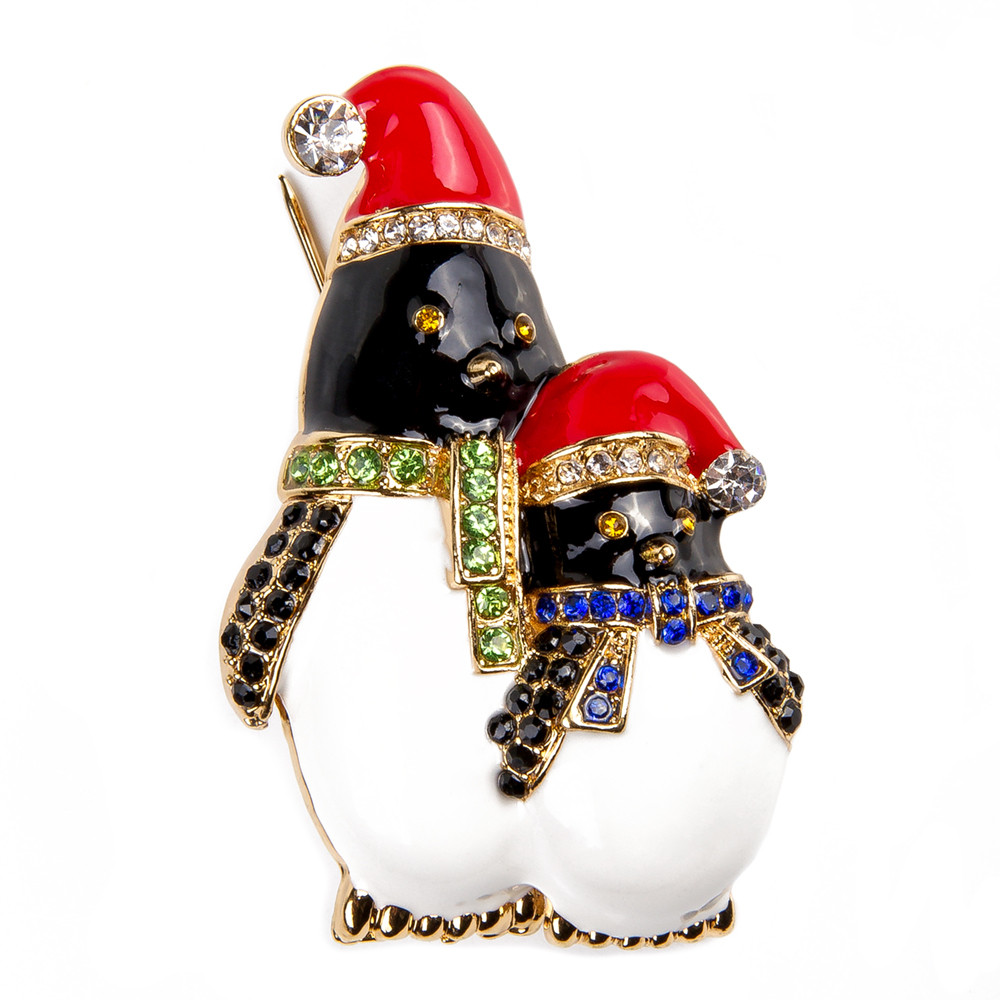brooch penguin
