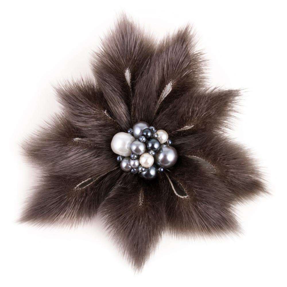 Ninefoil Fur Brooch | Product sku Y-160381