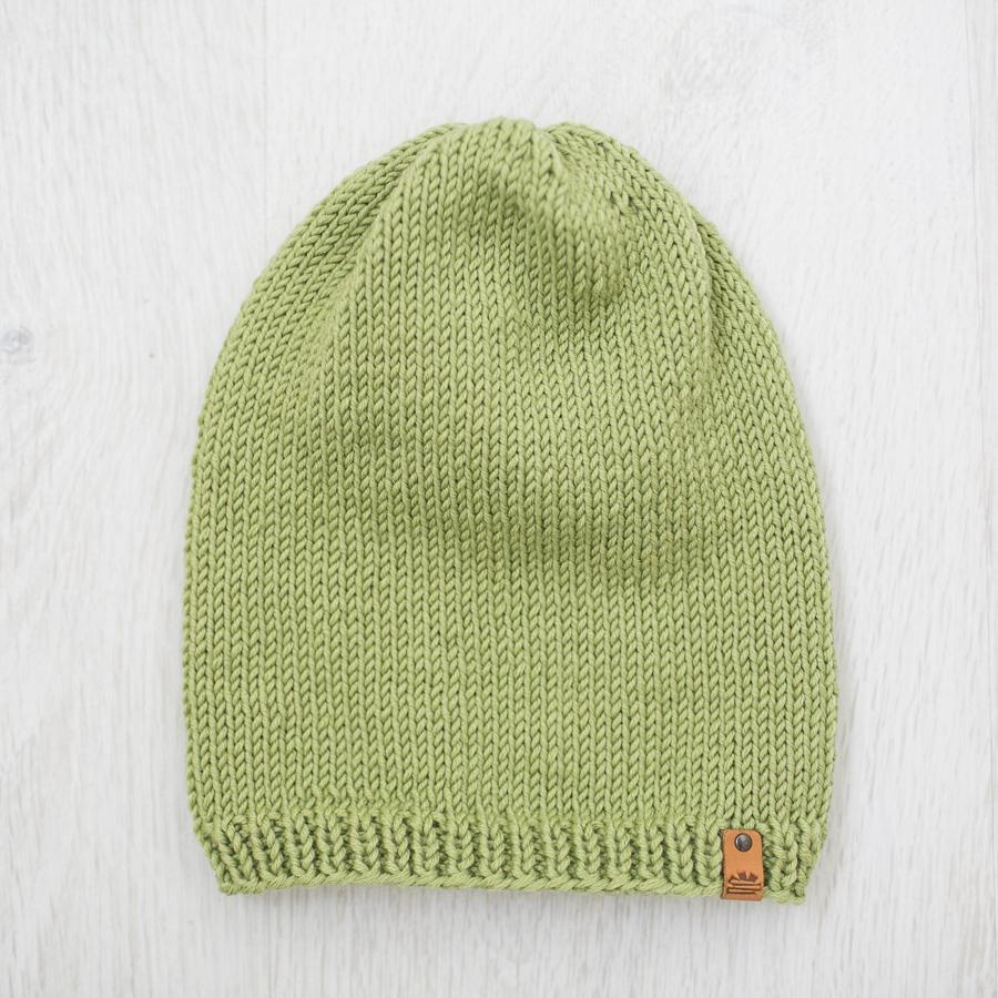 Merino Wool Children S Green Winter Hat Product Sku Z